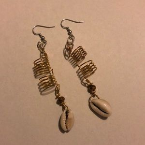 Hand made fish hook earrings